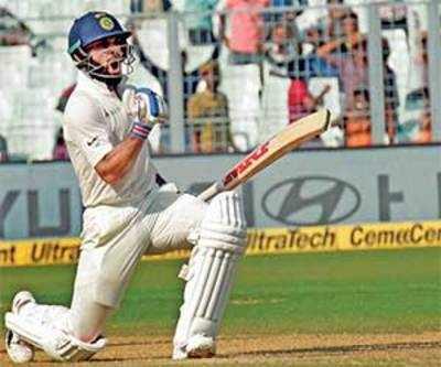 With 100, Virat Kohli 50 short of Sachin Tendulkar