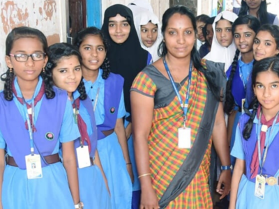 Kerala: From a cleaner-cum-attender to an English teacher in the same school; the inspirational story of Linza RJ