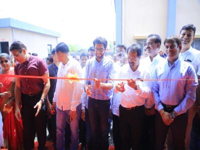 As monsoon approaches, Yuva Sena chief Aaditya Thackeray inaugurates Gazdarbandh pumping station