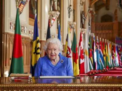 Queen Elizabeth says saddened by Harry and Meghan's experiences
