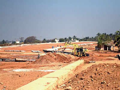 The Rs 650-cr brake on Nadaprabhu Kempegowda Layout infrastructure work