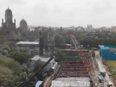Watch: Mumbai Metro releases 'breathtaking' view of upcoming 'CST' station