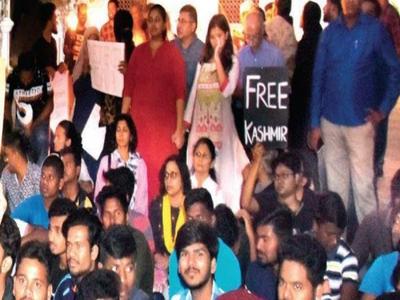Mysuru Bar shuns 'Free Kashmir' banner holder