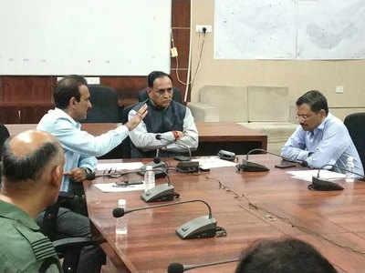 Vadodara flooded; CM convenes emergency meeting