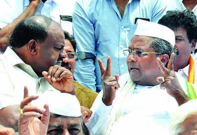 Is Siddaramaiah plotting a coup?