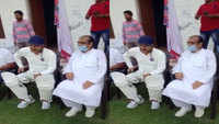 Manoj Tiwari flouts lockdown guidelines during cricket match in Sonipat