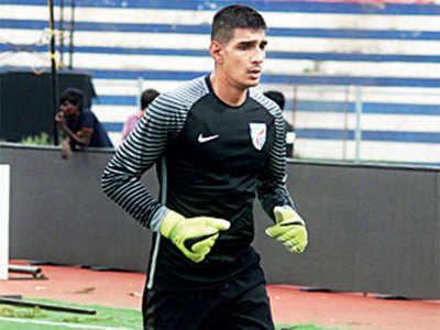 Gurpreet Singh Sandhu gets the support of coach Igor Stimac