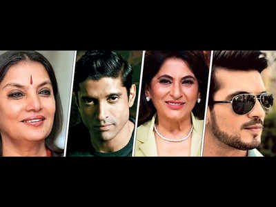 CINTAA appeals A-list actors to help daily wage actors and workers; Shabana Azmi, Farhan Akhtar among others come to the rescue