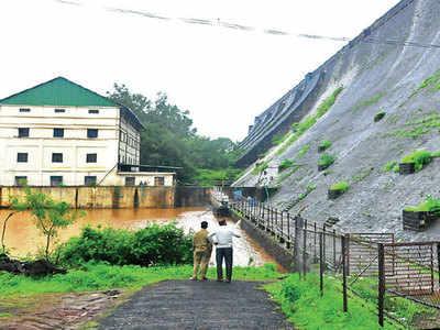 Cracks manifest in Bhatghar Dam