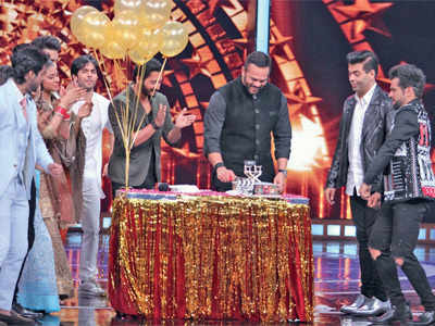 Rohit Shetty brings in 45th birthday early on TV show