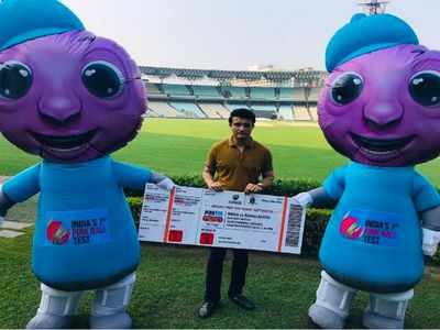 Twitterverse goes crazy over Tinku and Pinku, the official mascots of the historic day/night Test