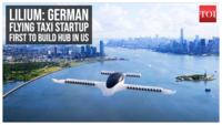 Lilium: German flying taxi startup first to build hub in US