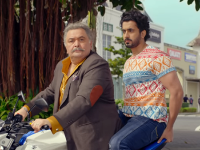 Jhootha Kahin Ka Movie Review: This Rishi Kapoor, Omkar Kapoor-starrer is a comedy of terrors
