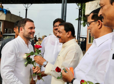 Rahul Gandhi in Mumbai LIVE Updates: Rahul Gandhi to meet Dadaji Khobragade's kin tomorrow