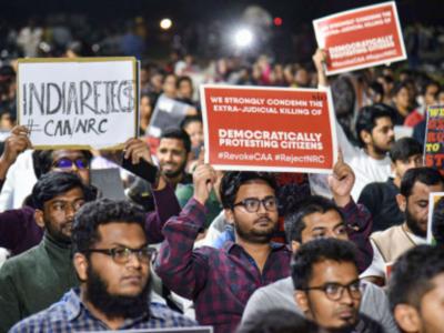 Hyderabad: Students take pledge against CAA, NRC; Asaduddin Owaisi plans mega rally on January 5
