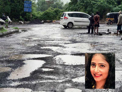 Lost hours: Potholes disrupt work too