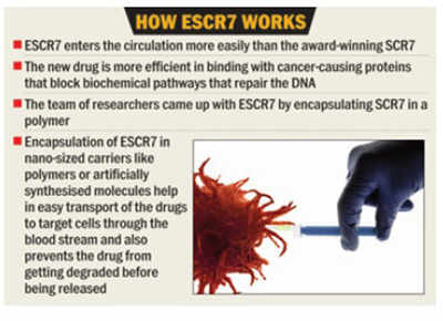 IISc prof leads in development of cancer drug with knock-out edge'
