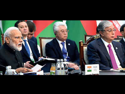 At SCO meet, PM bashes terror-aiding nations