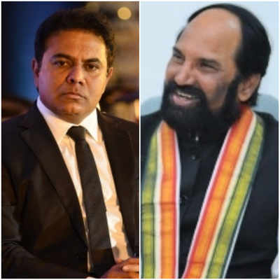 Telangana IT minister KT Rama Rao calls Congress MLA Uttam Kumar Reddy feudal over dish washer remark