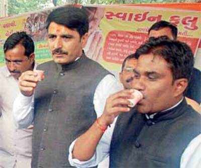 IAS officer who took ukala has swine flu