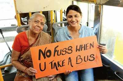 Meet us half way by bus, Bengalureans tell govt