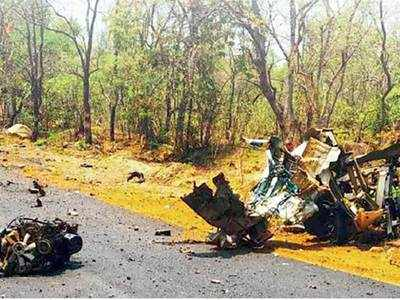 Road targeted in Gadchiroli was used for sending reinforcements
