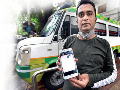 Rs 7,000 for a 3.5-km ride in an ambulance