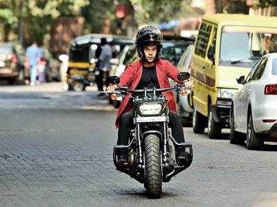 Before lockdown, Rajkummar Rao spotted riding a bike