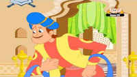 Kids Stories | Nursery Rhymes & Baby Songs - 'The Unlucky Face - Akbar And Birbal Tales'- Kids Nursery Story In Kannada