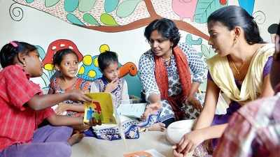 A room of their own: Library project gives children of informal wastepickers in Bengaluru's Banshankari new worlds to ponder