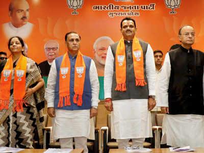 Gujarat polls: Arun Jaitley, Nirmala Sitharaman hold meeting with BJP leaders