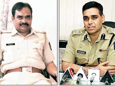 Two policemen suspended after getting caught in sting operation conducted by bar owner