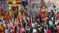 Ahmedabad: Gujarat CM Vijay Rupani performs ritual at Jagannath Temple