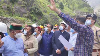 Kinnaur landslide live updates: Toll mounts to 14; CM Jairam Thakur visits Kinnaur today