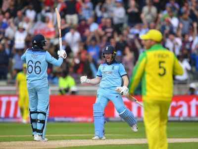 England beat Aussies, storm into final after 27 years