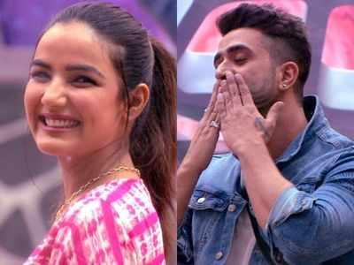 Bigg Boss 14: Ecstatic Jasmin Bhasin welcomes rumoured boyfriend Aly Goni in the House
