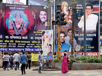 City politicos have gifted themselves a publicity bonanza this Ganeshotsav