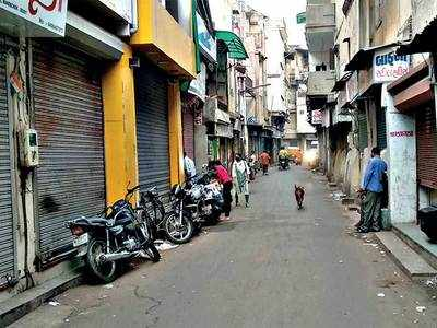 COVID-19 pandemic grips western part of Ahmedabad