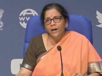 Finance Minister Nirmala Sitharaman announces Rs 1.7 lakh crore economic relief package for the poor amid coronavirus lockdown