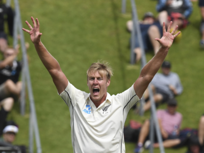 India vs New Zealand 1st Test Day 1: Kyle Jamieson walks tall with dream debut for the Kiwis