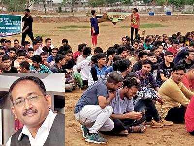 Students at IITE go on hunger strike