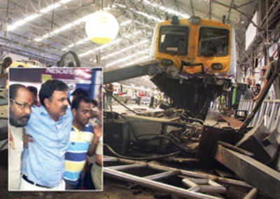 Motorman wanted to catch fast train home from next platform