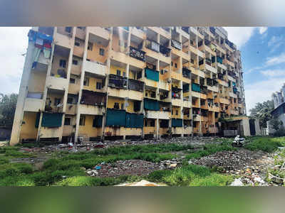 Sanitation staff live in squalor