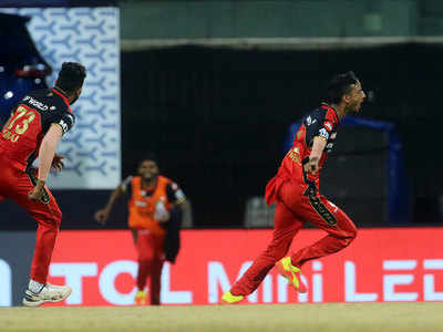 SRH vs RCB Highlights, IPL 2021: Three-wicket over from Shahbaz helps Bangalore beat Hyderabad by 6 runs
