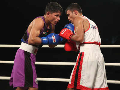 Indian Boxing League: Gujarat Giants tame NE Rhinos in close contest for second win