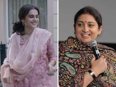 Smriti Irani lauds Taapsee Pannu's Thappad, says 'will definitely watch the film'