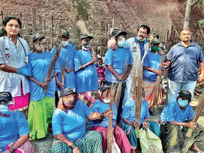 PMC ropes in Kharata Paltan to clean roads