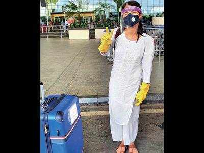 Radhika Madan's airport look is the new normal