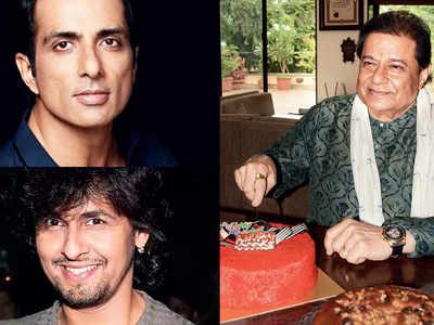 Quiet birthday celebrations for Anup Jalota, Sonu Sood, Sonu Nigam