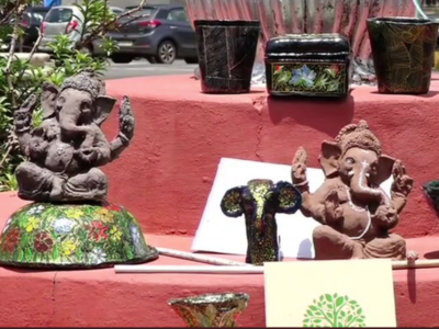 Mangaluru man makes eco-friendly Ganesha idols that grow into plants